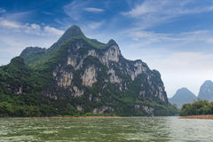 Guilin hill scenery Stock Image