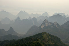 Guilin krajobraz 2 Fotografia Royalty Free