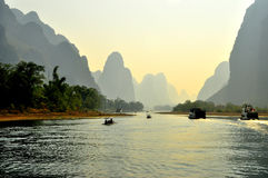 Guilin krajobraz 009 Fotografia Royalty Free
