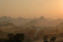 guilin krajobrazy Obrazy Royalty Free