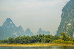 Guilin landscape at Li river Stock Images