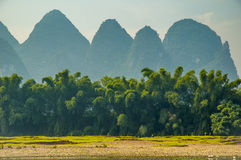 Guilin landscape at Li river Stock Photography
