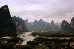 Guilin landscapes Stock Image