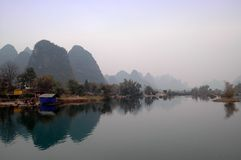 Guilin landscapes Royalty Free Stock Photo