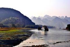 Guilin-Landschaft 002 Stockbilder