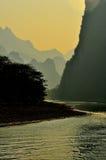 Guilin-Landschaft 003 Lizenzfreies Stockbild