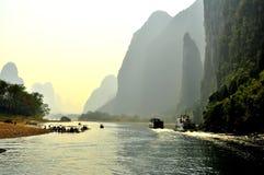 Guilin-Landschaft 007 Stockbild