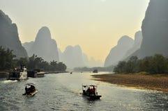 Guilin-Landschaft 009 Lizenzfreie Stockbilder