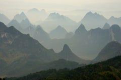 Guilin landskap 1 arkivfoto
