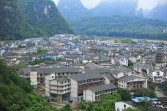 Guilin landskap Fotografering för Bildbyråer