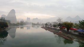 Guilin landskap Arkivbilder