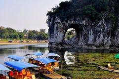 Guilin landskap 001 Arkivfoto