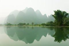 guilin li rzeka Zdjęcia Royalty Free