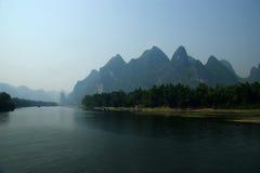 Guilin lijiang river in China Royalty Free Stock Image