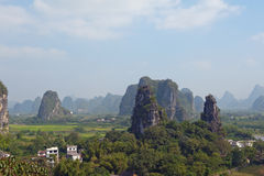 Guilin mountains China Stock Photography