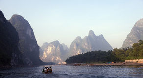 Guilin mountains in China Stock Photo