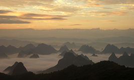 Guilin Mountains Royalty Free Stock Image