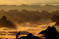 Guilin Mountains Stock Image