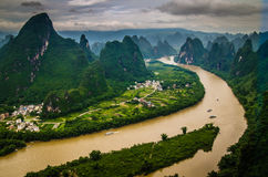 Guilin mountains Stock Photography