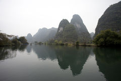 Guilin moutain in morning Stock Photo