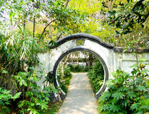 Guilin Park gate Royalty Free Stock Photo
