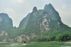 Guilin Park and Karst rocks Yangshuo Royalty Free Stock Image