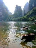 Guilin-Porzellanlandschaft Stockfoto
