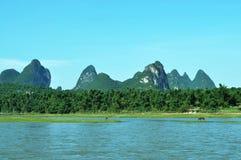 Guilin& x27; s landschap Stock Fotografie