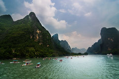 Guilin's scenery. Is the best in the world Royalty Free Stock Photos