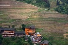 Guilin-Terrasse Stockbilder