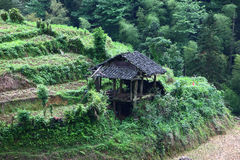 Guilin-Terrasse Stockfoto