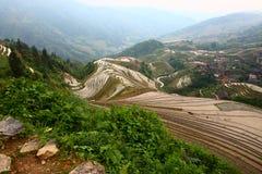 Guilin-Terrasse Lizenzfreie Stockbilder
