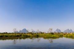 Guilin will Xiankasite National Wetland Park Stock Photos