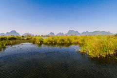 Guilin will Xiankasite National Wetland Park Royalty Free Stock Photo