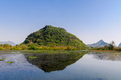Guilin will Xiankasite National Wetland Park Stock Photography