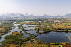 Guilin will Xiankasite National Wetland Park Stock Photo