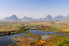 Guilin will Xiankasite National Wetland Park Royalty Free Stock Image