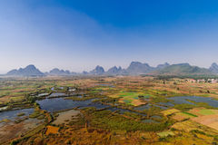 Guilin will Xiankasite National Wetland Park Stock Image