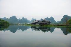 Guilin wzgórza i. fotografia royalty free