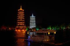 Guilin Yangshuo Guangxi China Stockbild