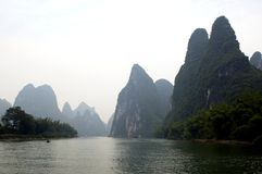Guilin, Yangshuo landscape Royalty Free Stock Photo