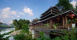 Guilin Yangshuo Pagoda Temple Royalty Free Stock Photo