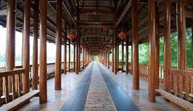 Guilin Yangshuo Pagoda Temple Pathway Stock Photography