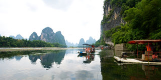 Guilin Yangshuo que Sightseeing Imagens de Stock Royalty Free