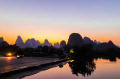 Guilin, Yangshuo Stock Photo