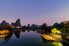 Guilin, Yangshuo Stock Images