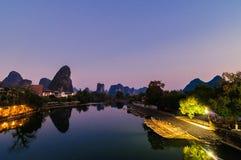 Guilin, Yangshuo Stock Images