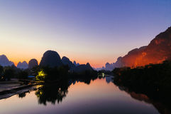 Guilin, Yangshuo Royalty Free Stock Photos