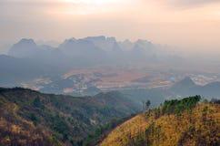 Guilin Yaoshan Mountain, China Royalty Free Stock Photography