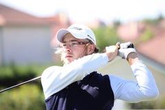 Guillaume Cambis bij het golf Prevens Trpohee 2009 stock foto's